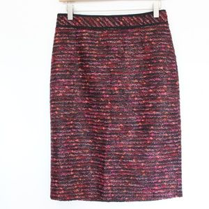 Classiques Entier Tweed Pencil Skirt sz 2